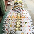 Special fabric rainbow tail for Liu Bei lion head
