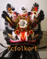 Chinese traditional lion head