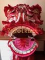 Good quality and beautiful traditional futsan style lion heads 4