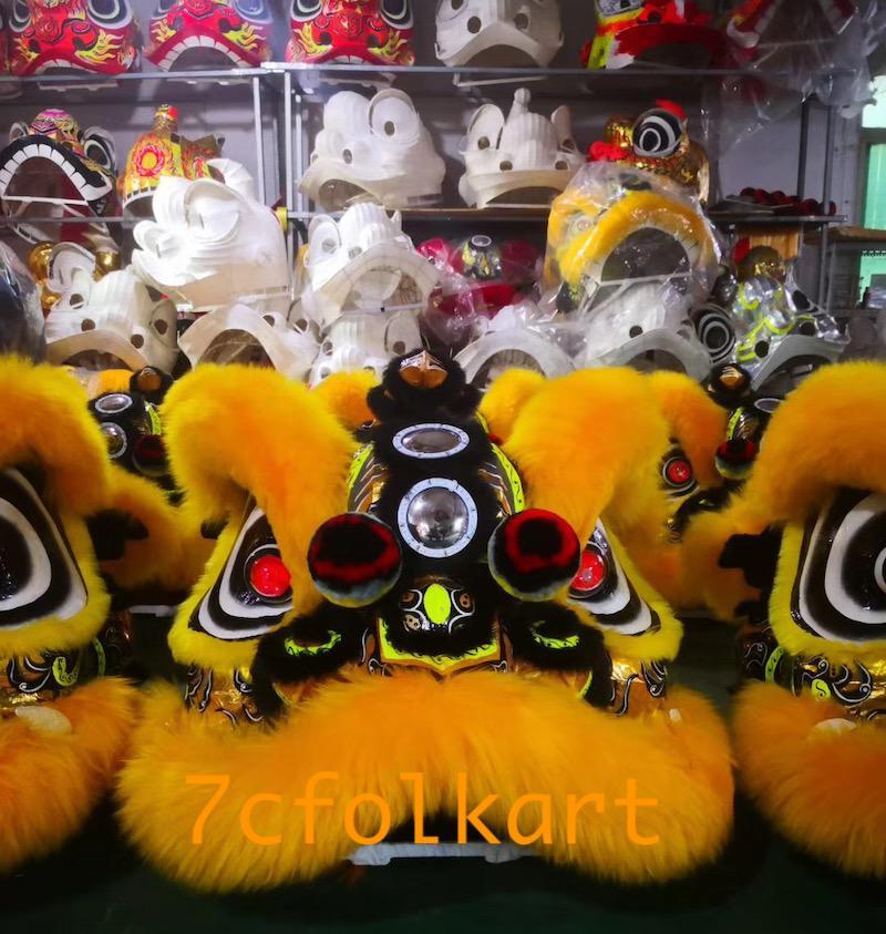 Law Fu Zi lion heads 11