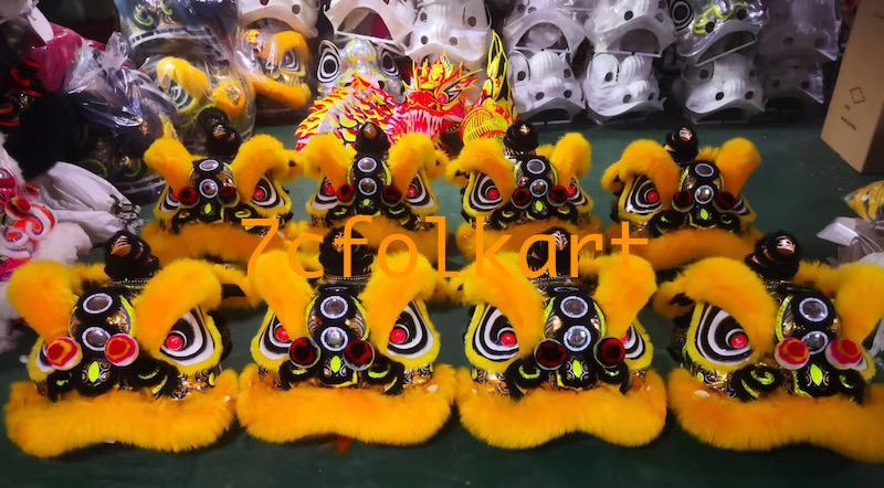 Law Fu Zi lion heads 12