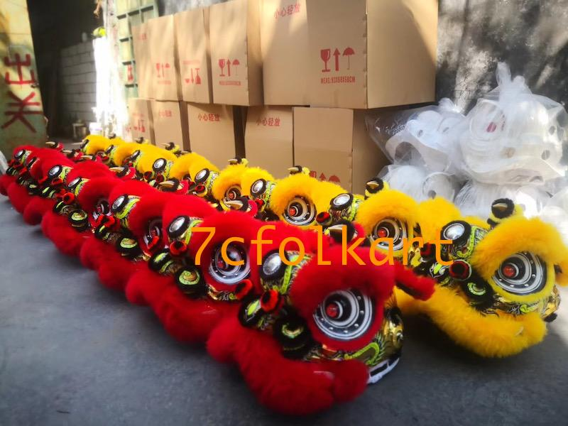 Futsan lion heads in different colors 7