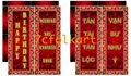Scrolls for lion dance events