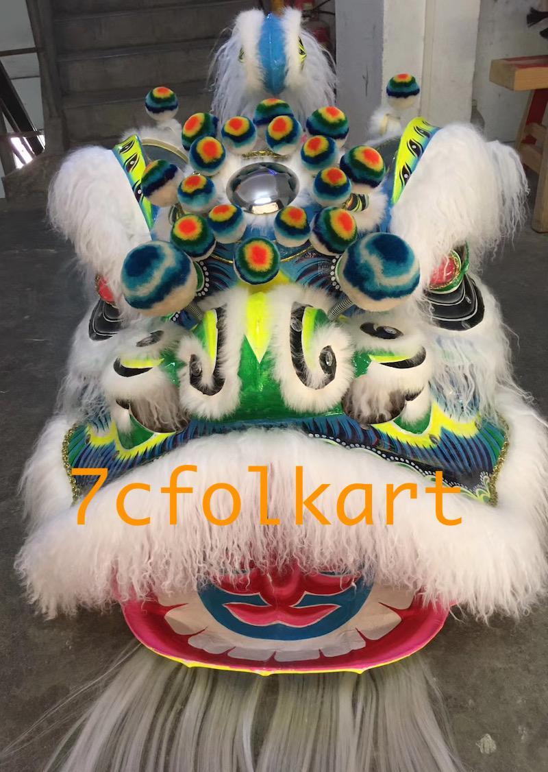 Ram fur futhok style lion heads of good quality 1