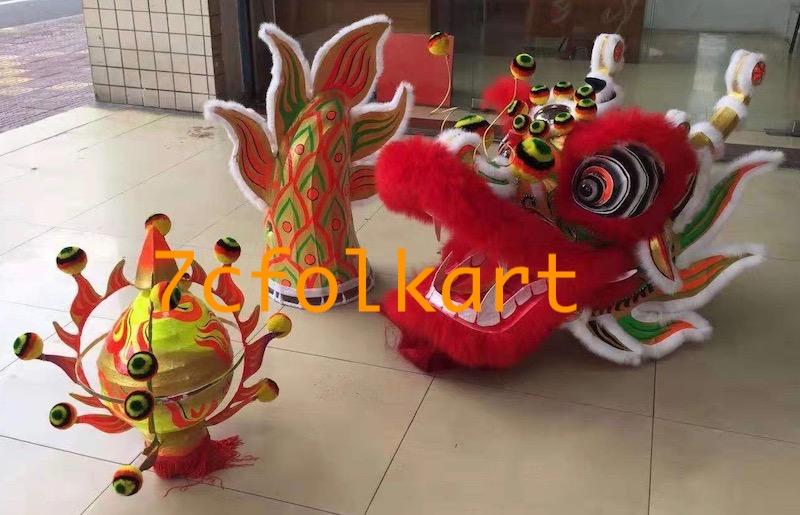 Chinese southern dragon with printed body fabric 2