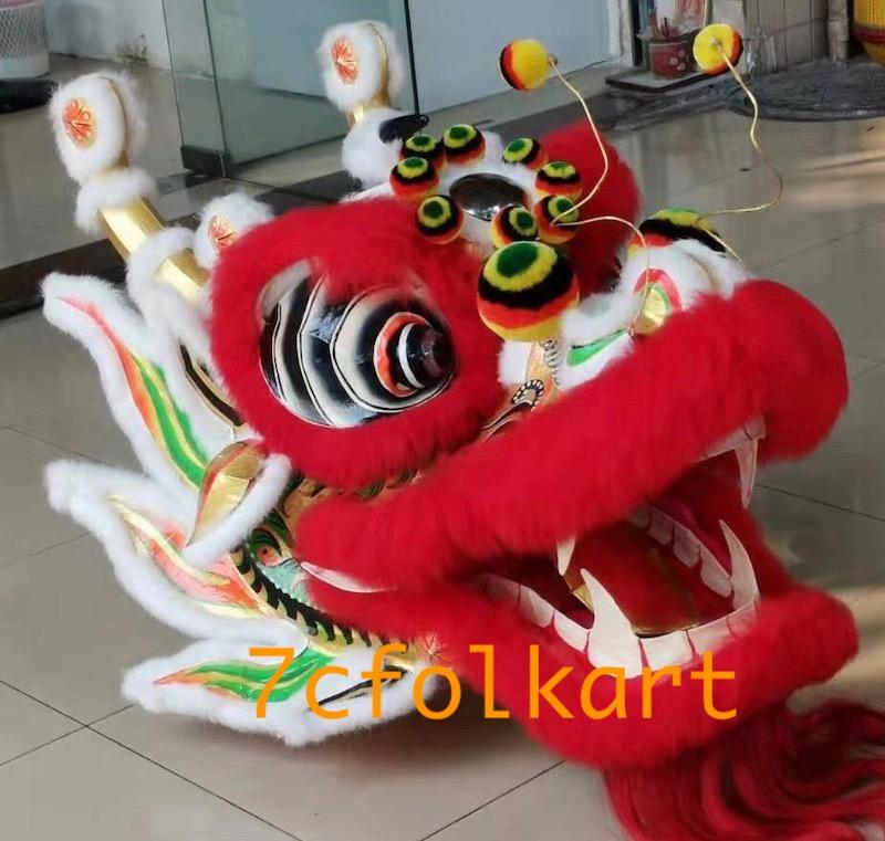 Chinese southern dragon with printed body fabric 1