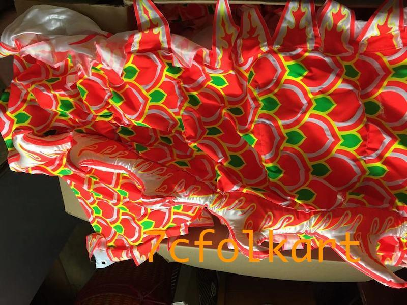 Chinese southern dragon with printed body fabric 3
