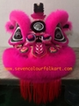 Pink hoksan style lion head of good quality 1