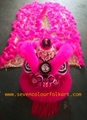 Pink hoksan style lion head of good quality