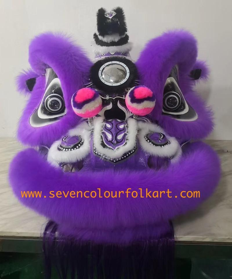 Purple hoksan style lion head of good quality 1