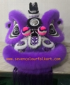 Purple hoksan style lion head of good