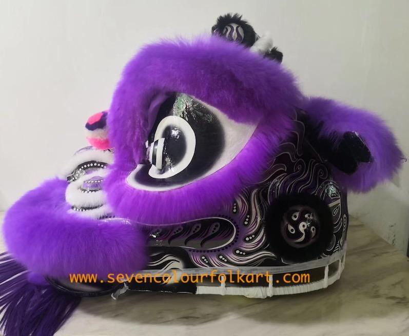 Purple hoksan style lion head of good quality 2
