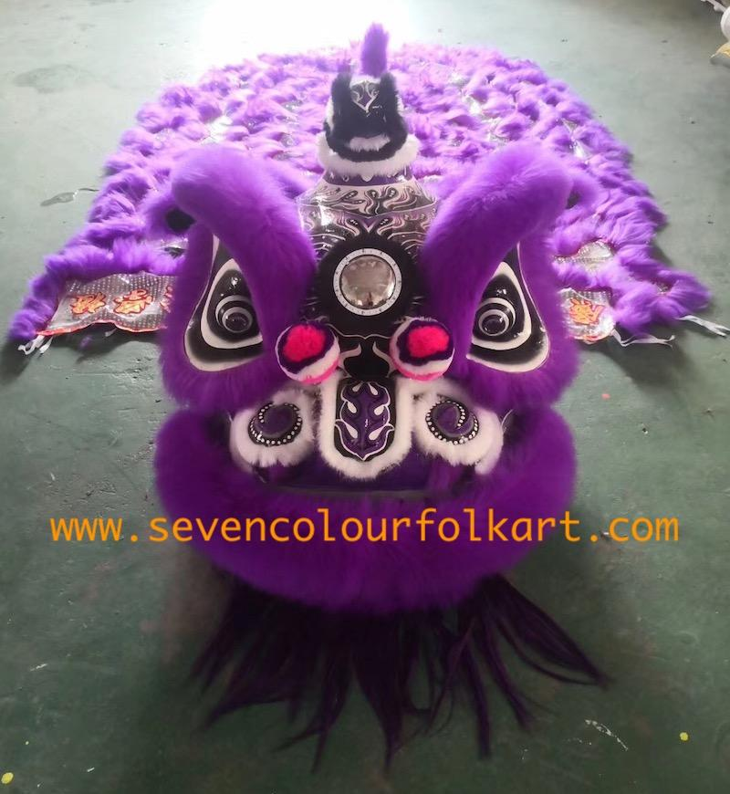 Purple hoksan style lion head of good quality 3