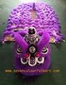 Purple hoksan style lion head of good quality 4