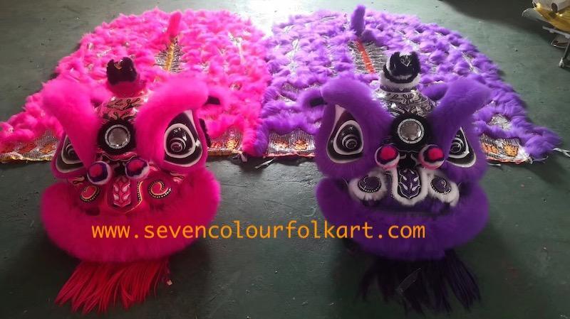 Purple hoksan style lion head of good quality 5
