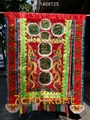 Hand-Embroidered banner with flying fish for lion dancing 5