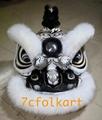 Traditional hoksan shape lion head 5