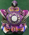 Beautiful paintings of futsan style lion heads