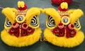 Gold-yellow sheep fur hoksan style lion heads 9