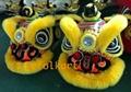 Gold-yellow sheep fur hoksan style lion heads 8