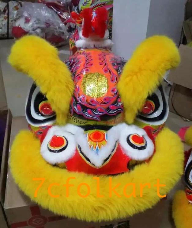 Traditional hoksan shape lion head 4