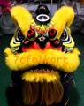 Gold-yellow sheep fur futsan style lion heads 7