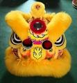 Gold-yellow sheep fur futsan style lion heads 5