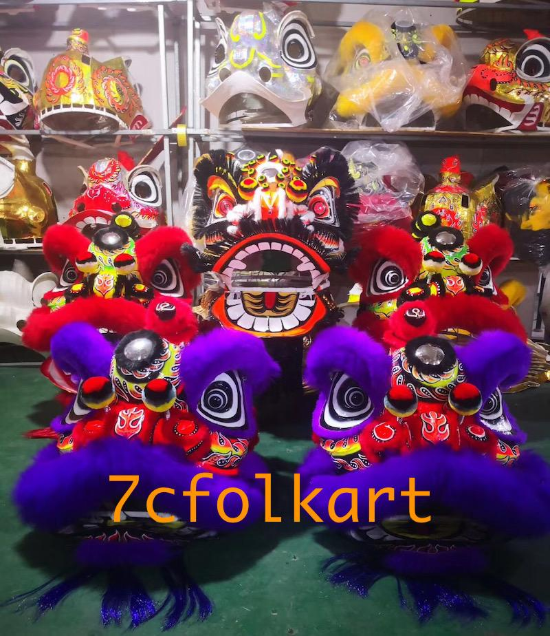 Futsan lion heads in different colors 3
