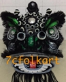 Futsan style traditional lion heads with bristle of good quality 15