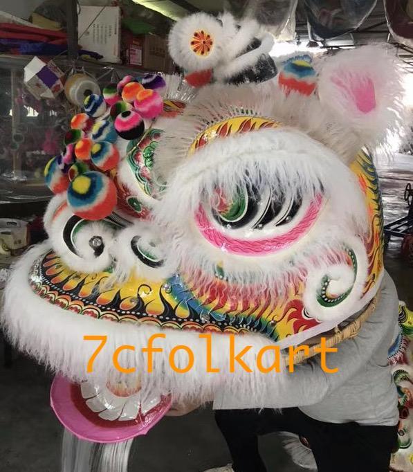 Ram fur traditional hoksan shape lion heads of good quality 6