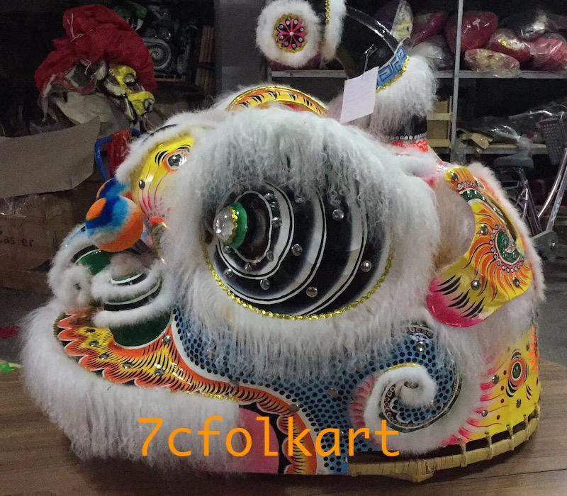 Ram fur traditional hoksan shape lion heads of good quality 7