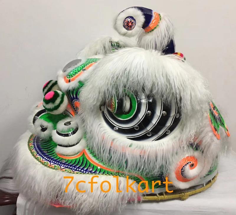 Ram fur traditional hoksan shape lion heads of good quality 8