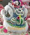 Ram fur traditional hoksan shape lion heads of good quality 10