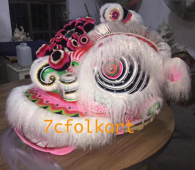 Ram fur hoksan style lion heads of good quality 1