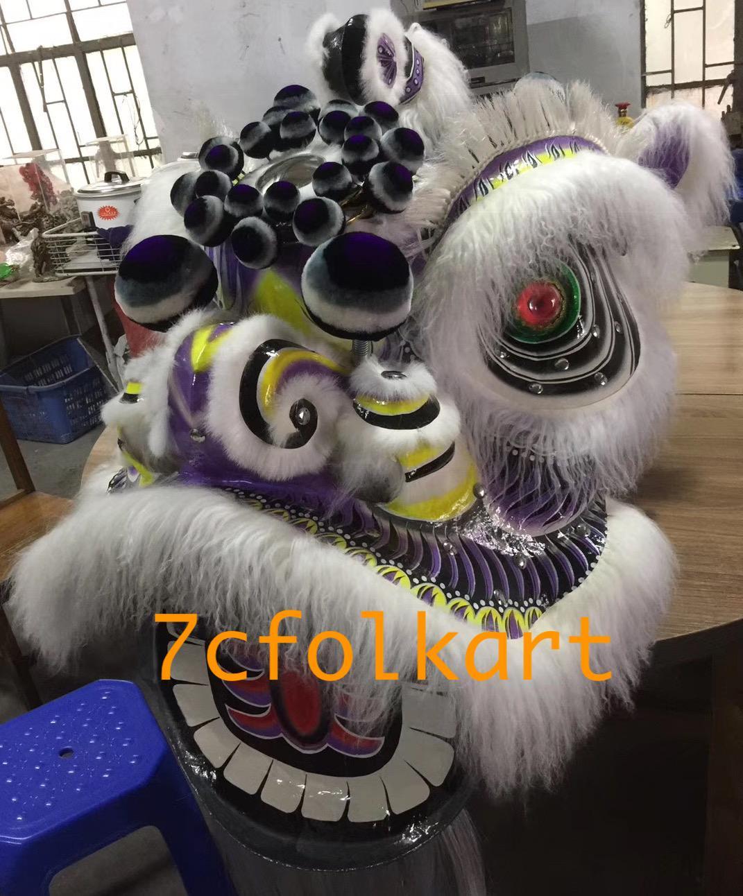 Ram fur futhok style lion heads of good quality 6