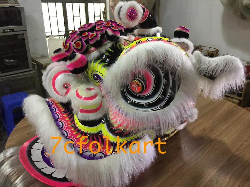 Ram fur futhok style lion heads of good quality 7