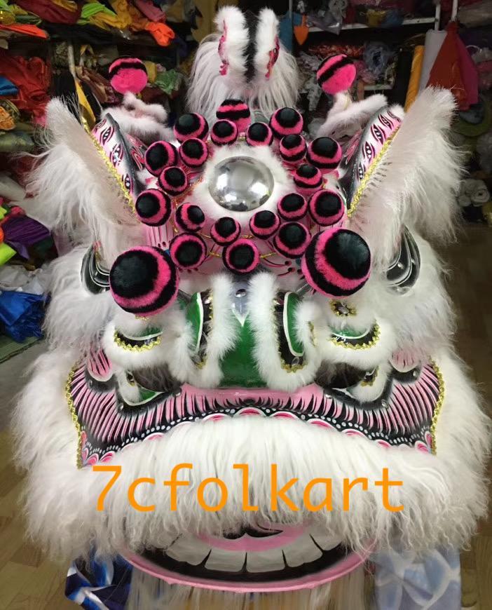 Ram fur futhok style lion heads of good quality 8
