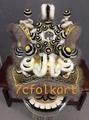 Ram fur futhok style lion heads of good quality 9