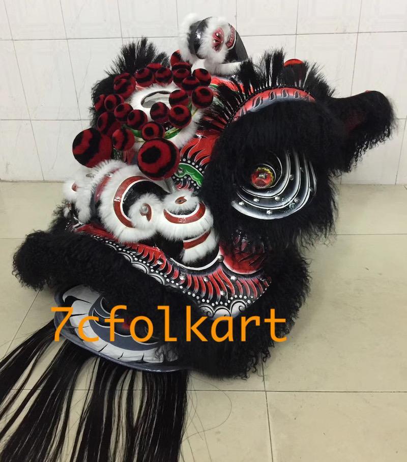 Ram fur futhok style lion heads of good quality 11