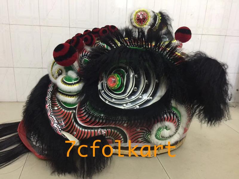 Ram fur futhok style lion heads of good quality 12