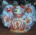 Futsan style traditional lion heads with bristle of good quality 6