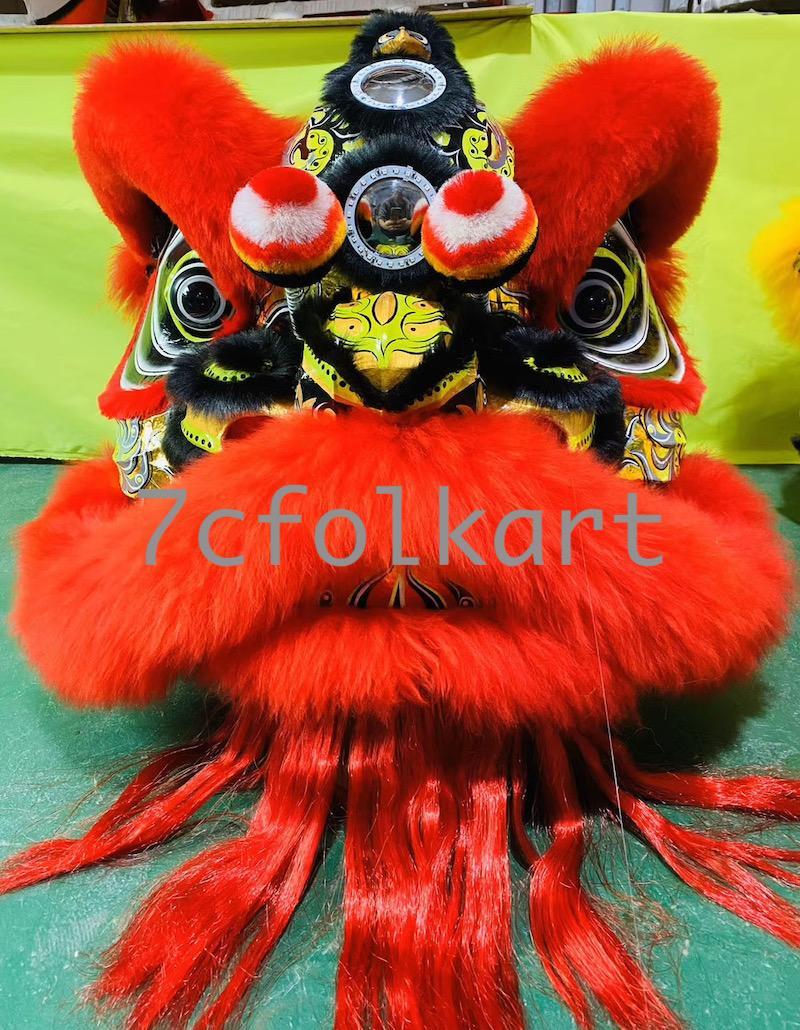 Law Fu Zi lion heads 8