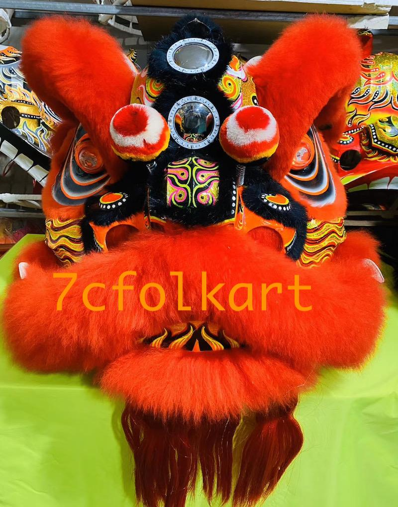 Law Fu Zi lion heads 4