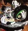 Traditional futsan lion head