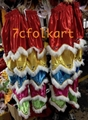 Chinese traditional lion heads with white bristle 5