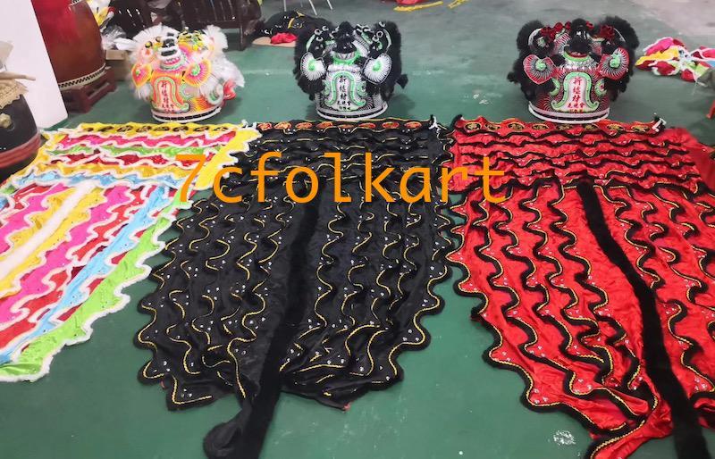 Futsan style traditional lions 9