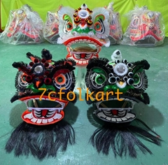 Futsan style traditional mini lions 9 cun / 12 inches