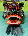Beautiful painting Futsan style traditional lion head