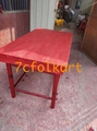 Lion dance equipment benches, table, tub, high pole, quincuncial piles 2