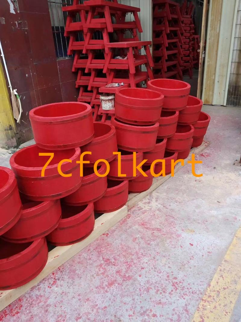 Lion dance equipment benches, table, tub, high pole, quincuncial piles 3